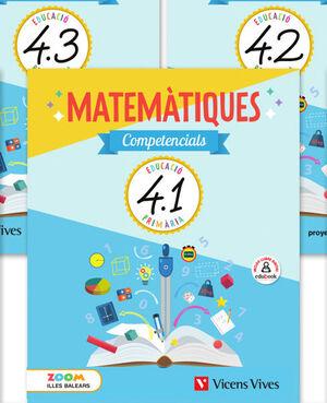 MATEMATIQUES COMPETENCIALS 4 BAL TRIM (ZOOM)