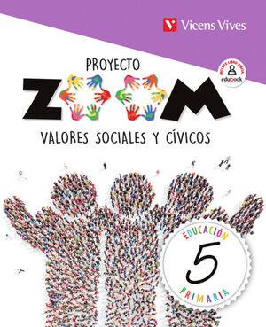 VALORES SOCIALES Y CIVICOS 5 (ZOOM)