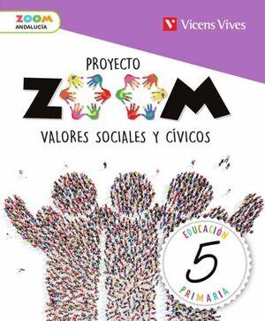 VALORES SOCIALES Y CIVICOS 5 ANDALUCIA (ZOOM)