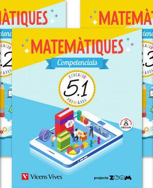 MATEMATIQUES COMPETENCIALS 5 TRIM (ZOOM)