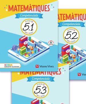 MATEMATIQUES COMPETENCIALS 5 VAL TRIM (ZOOM)