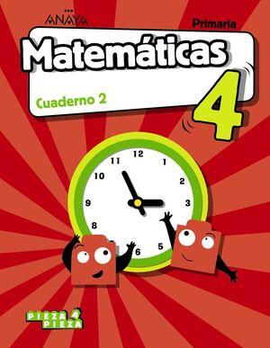 MATEMÁTICAS 4. CUADERNO 2.