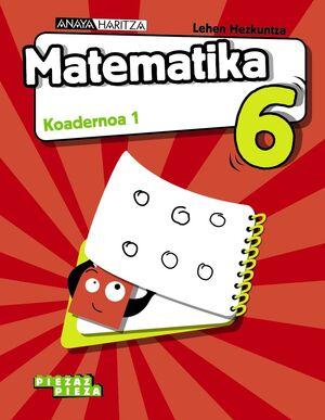 MATEMATIKA 6. KOADERNOA 1.