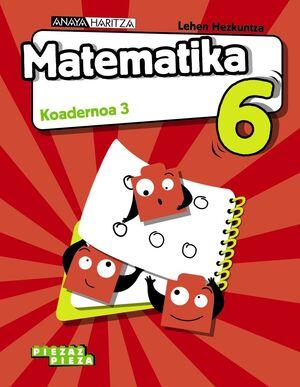 MATEMATIKA 6. KOADERNOA 3.
