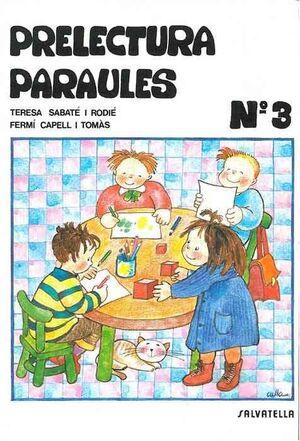 PRELECTURA PARAULES 3