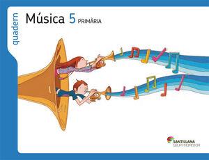 QUADERN MUSICA 5 PRIMARIA