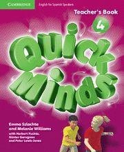 QUICK MINDS LEVEL 4 TEACHER'S BOOK