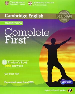 COMPLETE FIRST FOR SPANISH SPEAKERS STUDENT'S PACK WITH ANSWERS (STUDENT'S BOOK