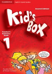 KID'S BOX FOR SPANISH SPEAKERS  LEVEL 1 TEACHER'S RESOURCE BOOK WITH AUDIO CDS (