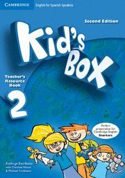 KID'S BOX FOR SPANISH SPEAKERS  LEVEL 2 TEACHER'S RESOURCE BOOK WITH AUDIO CDS (