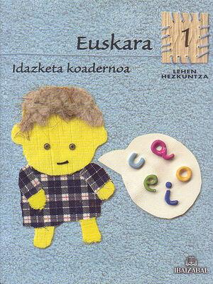 EUSKARA -LMH 1- IDAZKETA KOADERNOA