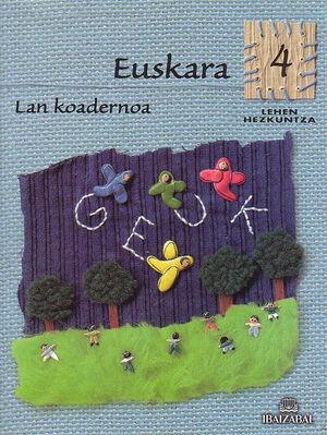 EUSKARA -LMH 4- LAN KOADERNOA