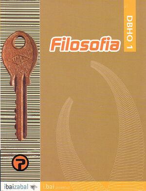 FILOSOFIA -DBHO 1- (I.BAI)