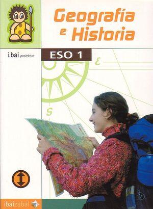 GEOGRAFIA E HISTORIA -ESO 1- (I.BAI)