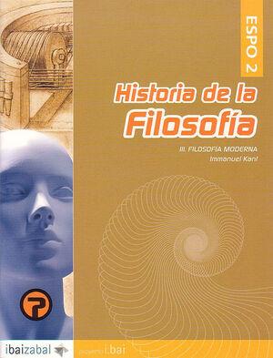 HISTORIA DE LA FILOSOF¡A: IMMANUEL KANT -ESPO 2-