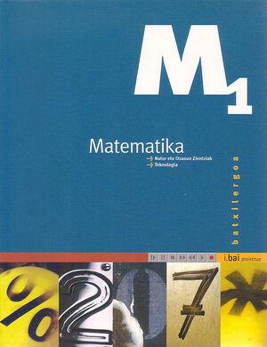MATEMATIKA 1 BATXILERGOA