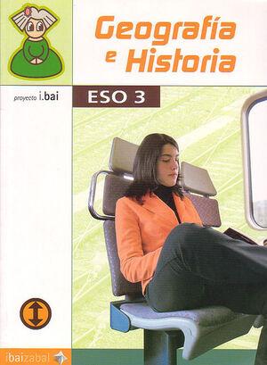 GEOGRAF¡A E HISTORIA -ESO 3- (I.BAI)