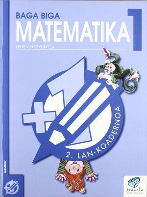 TXANELA 1 - MATEMATIKA 1. LAN-KOADERNOA 2