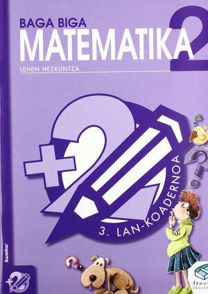 TXANELA 2 - MATEMATIKA 2. LAN-KOADERNOA 3