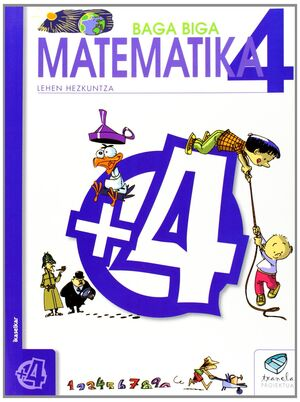 TXANELA 4 - MATEMATIKA 4