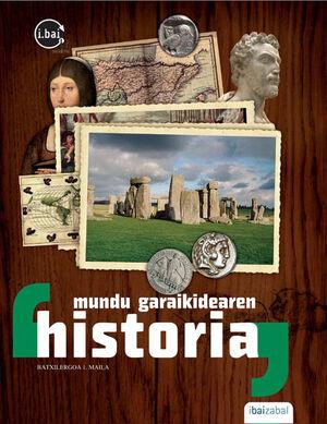 MUNDU GARAIKIDEAREN HISTORIA BATXILERGOA 1.MAILA