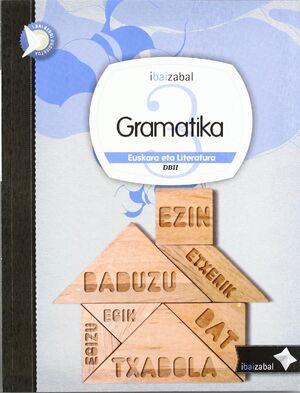 GRAMATIKA DBH 3, IKASLEAREN MATERIALA