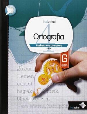 ORTOGRAFIA DBH 4 GIDA