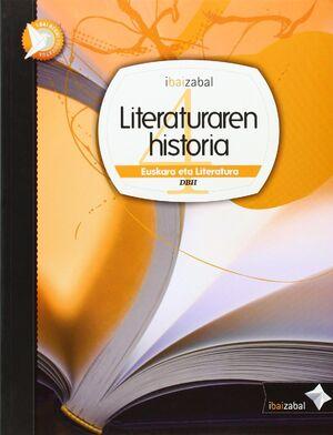 LITERATURAREN HISTORIA DBH 4, IKASLEAREN MATERIALA
