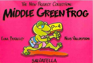 MIDDLE GREEN FROG
