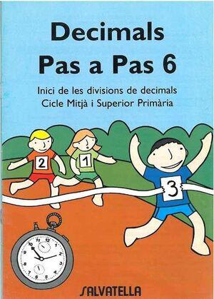 DECIMALS PAS A PAS 6