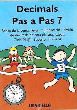 DECIMALS PAS A PAS 7