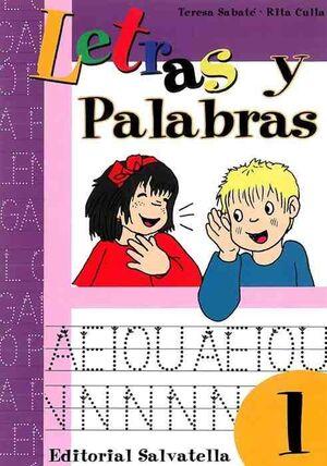 LETRAS Y PALABRAS 1