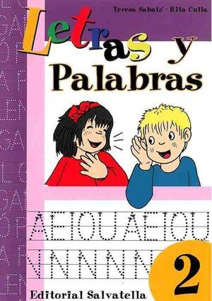 LETRAS Y PALABRAS 2