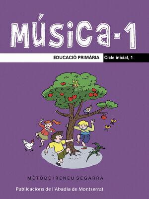 MÚSICA-1. EDUCACIÓ PRIMÀRIA. CICLE INICIAL, 1