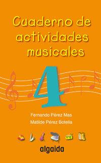 CUADERNO DE ACTIVIDADES MUSICALES 4