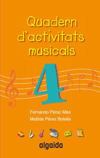 QUADERN D'ACTIVITATS MUSICALS 4