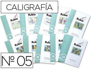 CUADERNO RUBIO CALIGRAFIA Nº 05
