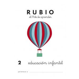 CUADERNO RUBIO PREESCOLAR 2/ UNIDAD