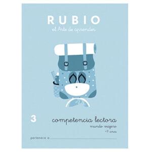 CUADERNO RUBIO C.LECT.3MUNDO VIAJE