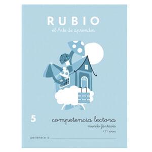 CUADERNO RUBIO C.LECT.5MUNDO FANTASIA