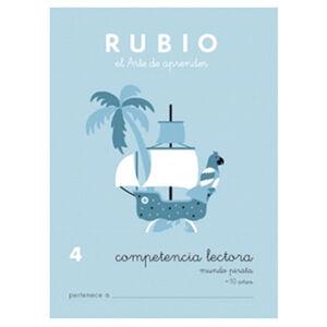 CUADERNO RUBIO C.LECT.4MUNDO PIRATA
