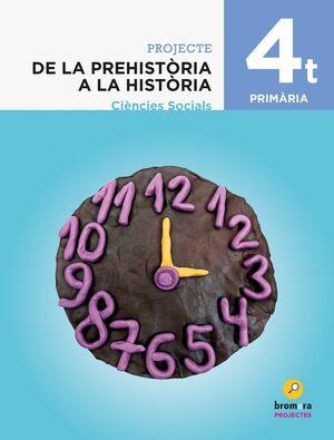 DE LA PREHISTÒRIA A LA HISTÒRIA. CIÈNCIES SOCIALS 4T PRIMÀRIA
