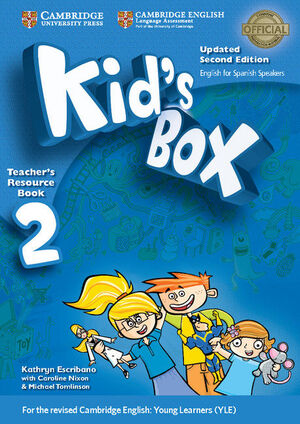 KID'S BOX LEVEL 2 TEACHER'S RESOURCE BOOK WITH AUDIO CDS (2) UPDATED ENGLISH FOR