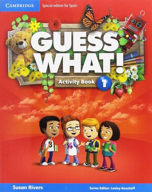GUESS WHAT SPECIAL EDITION FOR SPAIN LEVEL 1 ACTIVITY BOOK WITH GUESS WHAT YOU C