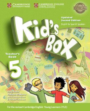 KID'S BOX LEVEL 5 TEACHER'S BOOK UPDATED ENGLISH FOR SPANISH SPEAKERS 2ND EDITIO
