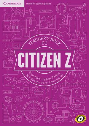 CITIZEN Z C1 TEACHER'S BOOK