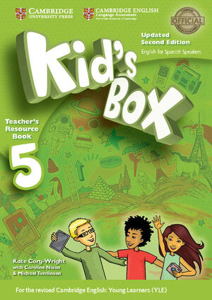 KID'S BOX LEVEL 5 TEACHER'S RESOURCE BOOK WITH AUDIO CDS (2) UPDATED ENGLISH FOR