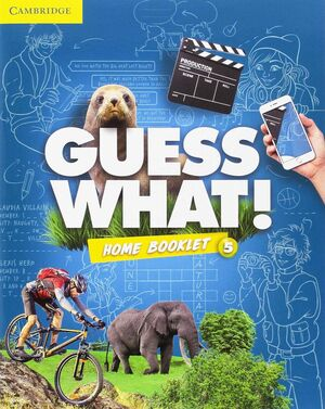 GUESS WHAT SPECIAL EDITION FOR SPAIN LEVEL 5 ACTIVITY BOOK WITH GUESS WHAT YOU C