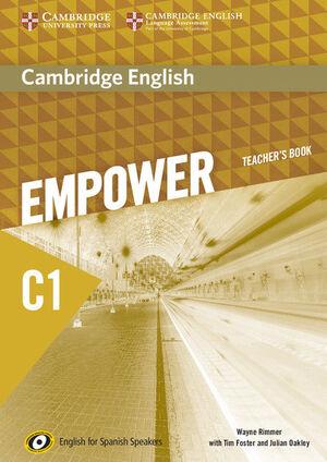 CAMBRIDGE ENGLISH EMPOWER FOR SPANISH SPEAKERS C1 TEACHER'S BOOK