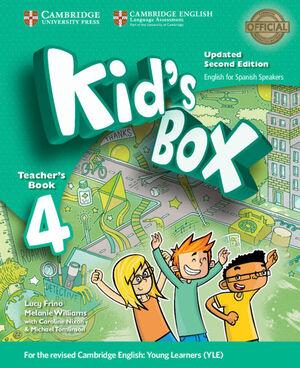 KID'S BOX LEVEL 4 TEACHER'S BOOK UPDATED ENGLISH FOR SPANISH SPEAKERS 2ND EDITIO